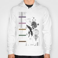 alchemy Hoodies featuring Floral Alchemy  by Forrest Wright