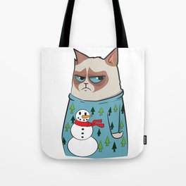 GC in Holiday Sweater 01 Tote Bag