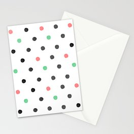 Watercolor Polka! Stationery Cards