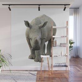 Baby Rhino Wall Mural