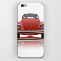 vw iPhone & iPod Skins featuring VW Beetle by Nove Studio