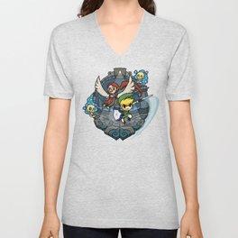3b6684906 Legend of Zelda Wind Waker Earth Temple T-Shirt Unisex V-Neck