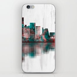 Knoxville Tennessee Skyline iPhone Skin