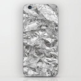 Silver iPhone Skin
