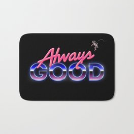 Always Good Space 80s Retro Bath Mat