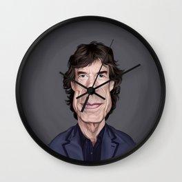 Celebrity Sunday ~ M ick Jagger Wall Clock