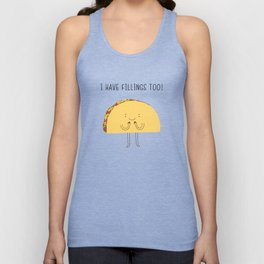 I have fillings too! Unisex Tank Top