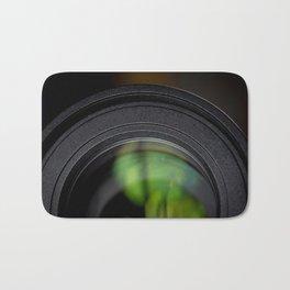 Photography Lens Macro Detail Bath Mat
