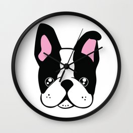 Cute Frenchie Wall Clock