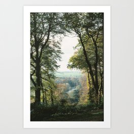 The Thames from Cliveden, England Art Print