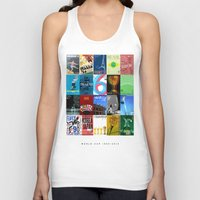 world cup Tank Tops featuring World Cup: 1930-2014 by James Campbell Taylor