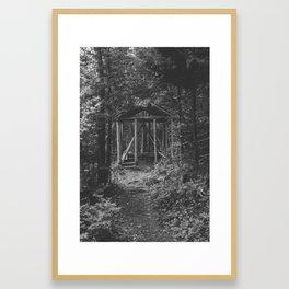 take a break Framed Art Print
