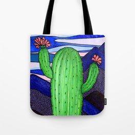 Cactus Sky Tote Bag