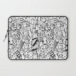 Cat Doodles Laptop Sleeve