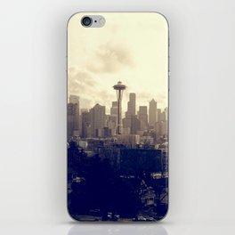 Seattle Sky iPhone Skin