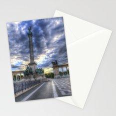 Heroes Square Budapest Sunrise Stationery Cards