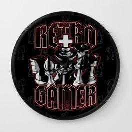 Chess Retro Gamer Wall Clock