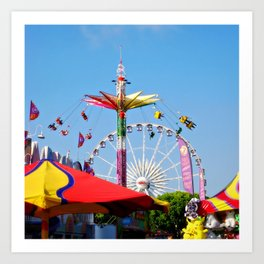 County Fair Art Print