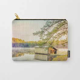 Lakescape at Sunrise Carry-All Pouch