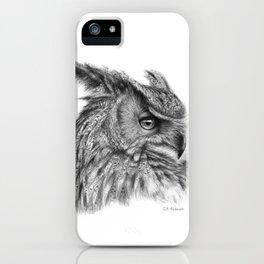 Eagle Owl G085 iPhone Case