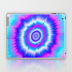 Boom in Blue and Pink Laptop & iPad Skin