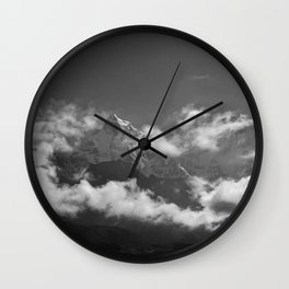 Himalayan Mist: 3 Wall Clock