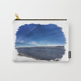 Mississippi Riverfront - Bettendorf, Iowa - Winter 2017 Carry-All Pouch