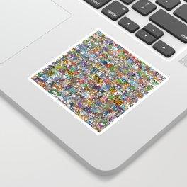 pokeman Sticker