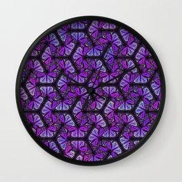 Dark Butterfly Wall Clock