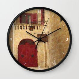 The Silent City Wall Clock