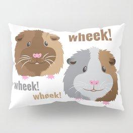 Wheek Wheek Guinea Pigs Pillow Sham