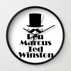 Gentlemen of the Road Wall Clock