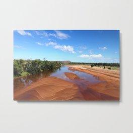 Finke River  Metal Print