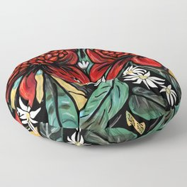 Waratah Floor Pillow