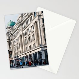Regent street in London Stationery Cards