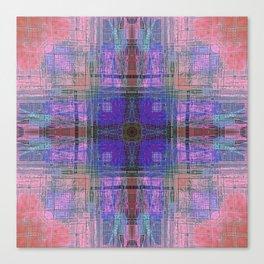 Southwestern Crane Canvas Print