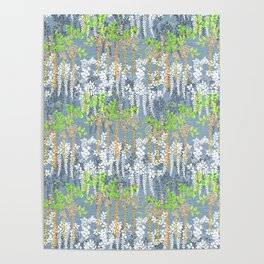Beautiful Floral pattern Poster
