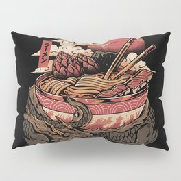 Dragon's Ramen Pillow Sham