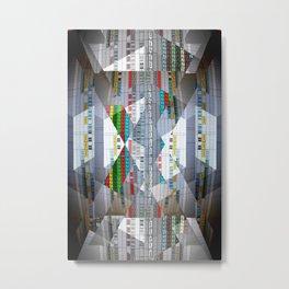 Arrangement Roll Metal Print