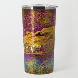 Chilling Crocodile Travel Mug