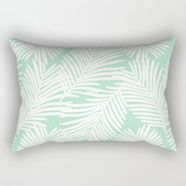 Areca Palm minimal tropical house plants minimalism art print zen chill decor Rectangular Pillow