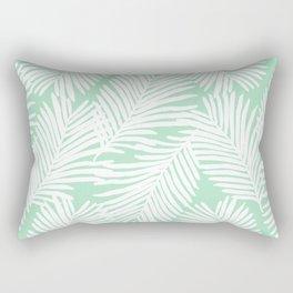 Areca Palm minimal tropical house plants minimalism art print zen chill decor Rectangular Pillow