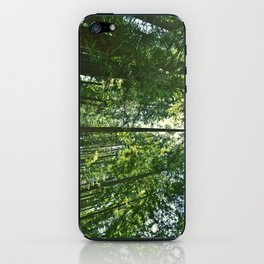 i want to be on the tops of all the trees iPhone Skin
