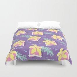 Tropical Retro Design Duvet Cover