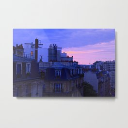 Paris After the Storm Metal Print