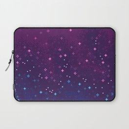 Bi Pride Flag Galaxy Laptop Sleeve