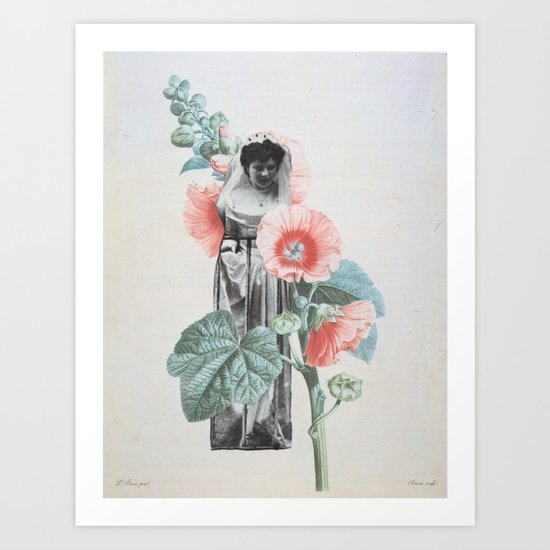 Botanical Bride Art Print