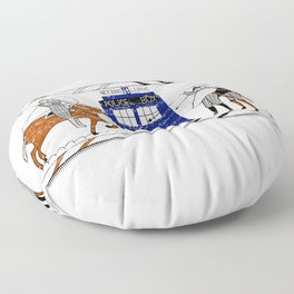 Nocens Lupus (Bad Wolf) Floor Pillow