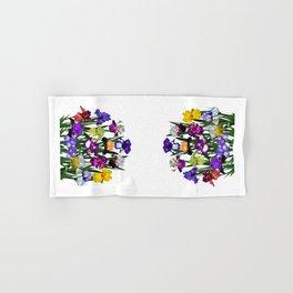 Iris garden Hand & Bath Towel