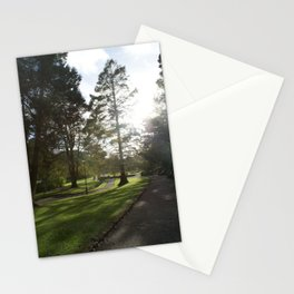 Cornwall Park Photo 1780 Peaceful Evening Stationery Cards